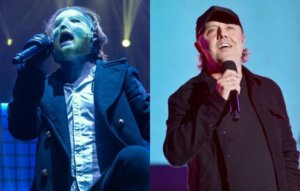"""Slipknot's Corey Taylor says Lars Ulrich was """"so right"""" about Napster"""