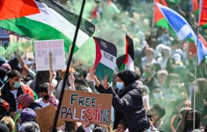 Artists speak out on Israel-Palestine crisis amid weekend of global protests