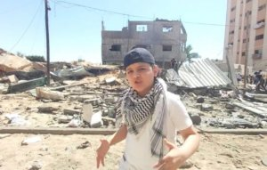 12-year-old Gaza rapper goes viral with verses about violence in Palestine over Eminem beat