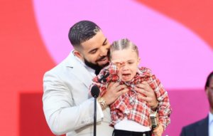 Drake's son joins rapper during acceptance speech for Artist of the Decade at Billboard Music Awards