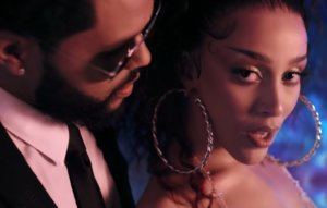 Doja Cat and The Weeknd unite in the cosmos for 'You Right' video