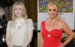 Watch Courtney Love's acoustic cover of Britney Spears' 'Lucky'