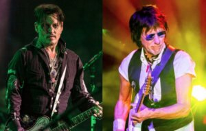 Johnny Depp is reportedly working on new music with Jeff Beck