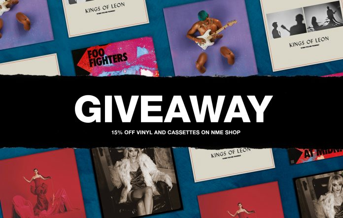 NME Giveaway NME Shop 15% off vinyl and cassettes