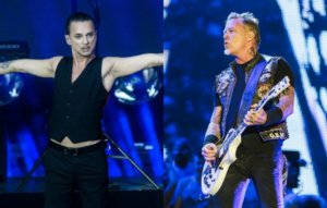 """Depeche Mode's Dave Gahan on covering Metallica: """"There's a dark side to both our bands"""""""
